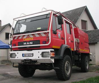 Camion-citerne pour feux de forêts, Sapeurs-pompiers, Eure (27)