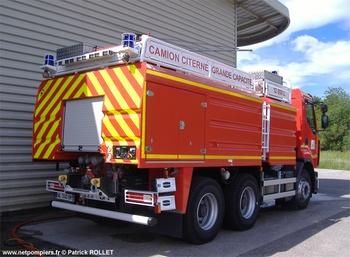 Camion-citerne de grande capacité, Sapeurs-pompiers, Ain (01)