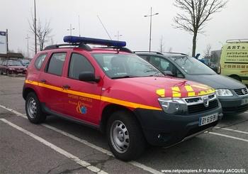 Véhicule de liaison, Sapeurs-pompiers, Meurthe-et-Moselle (54)