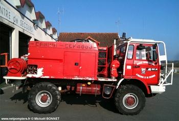 Camion-citerne pour feux de forêts, Sapeurs-pompiers, Haute-Vienne