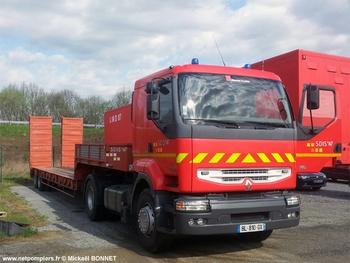 Véhicule tracteur, Sapeurs-pompiers, Haute-Vienne (87)