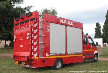 Véhicule pour interventions à risques technologiques, Sapeurs-pompiers, Rhône (69)