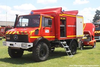 Dévidoir automobile, Sapeurs-pompiers, Loire (42)