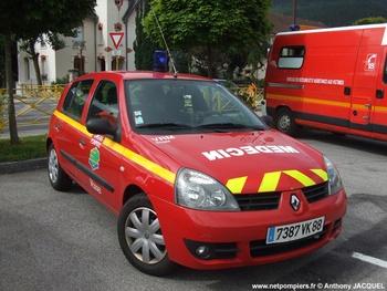 <h2>Véhicule radio médicalisé - Vosges (88)</h2>