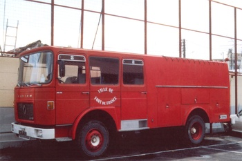Fourgon-pompe dévidoir de grande puissance, Sapeurs-pompiers, Martinique (972)
