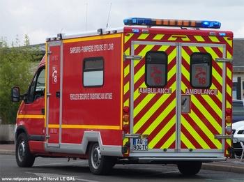 <h2>Véhicule de secours et d'assistance aux victimes - Chartres - Eure-et-Loir (28)</h2>