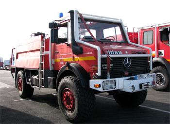 Camion-citerne pour feux de forêts, Sapeurs-pompiers, Indre-et-Loire (37)