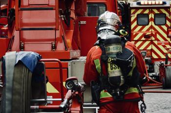 Echelle pivotante, Sapeurs-pompiers de Paris, Paris