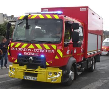 Camion d'exploration longue durée, Sapeurs-pompiers de Paris, Paris (75)