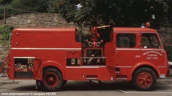 Dévidoir automobile, Sapeurs-pompiers, Haut-Rhin (68)