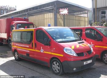 Véhicule risques animaliers, Sapeurs-pompiers de Paris,  ()
