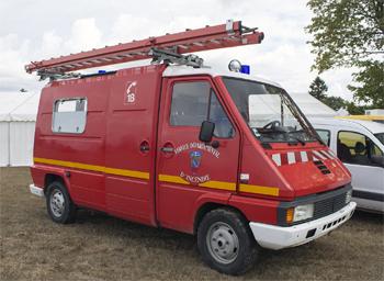Véhicule pour interventions diverses, Sapeurs-pompiers, Creuse (23)