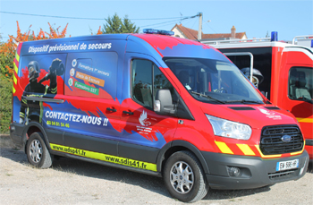 Véhicule de secours et d'assistance aux victimes, Service de sécurité incendie, Loir-et-Cher