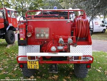 <h2>Camion-citerne pour feux de forêts - Ardèche (07)</h2>