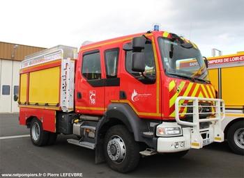Camion-citerne rural, Sapeurs-pompiers, Loir-et-Cher (41)