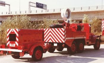 Camion d'éclairage, Sapeurs-pompiers, Alpes-Maritimes (06)
