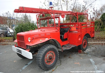 <h2>Camion-citerne pour feux de forêts léger - Guerville - Yvelines (78)</h2>