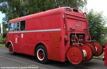 Fourgon-pompe dévidoir de grande puissance, Sapeurs-pompiers, Oise (60)