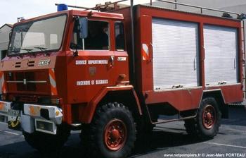 Véhicule de secours routier, Sapeurs-pompiers, Cantal