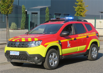 Véhicule de liaison, Sapeurs-pompiers, Drôme (26)