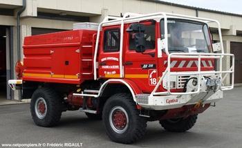 Camion-citerne pour feux de forêts, Sapeurs-pompiers, Loir-et-Cher (41)