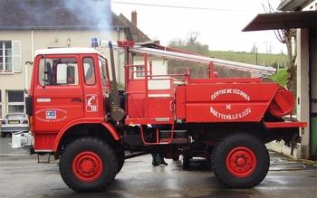 Camion-citerne pour feux de forêts, Sapeurs-pompiers, Calvados (14)