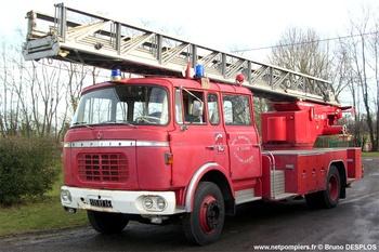 Echelle pivotante, Sapeurs-pompiers, Calvados (14)