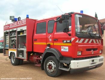 <h2>Véhicule de secours routier - Saint-Germain-Laval - Loire (42)</h2>