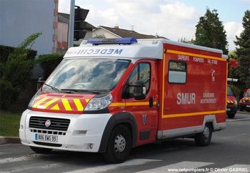 Ambulance de réanimation, Sapeurs-pompiers, Val-d'Oise (95)