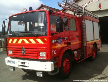<h2>Fourgon-pompe tonne - Sermaises - Loiret (45)</h2>