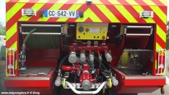 Camion-citerne de grande capacité, Sapeurs-pompiers, Haute-Garonne