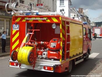 <h2>Véhicule de première intervention - Saint-Omer - Pas-de-Calais (62)</h2>