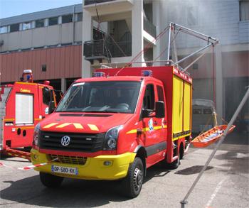 Véhicule GRIMP, Sapeurs-pompiers, Seine-Maritime