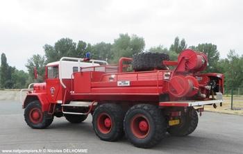 Camion-citerne pour feux de forêts, Sapeurs-pompiers, Allier