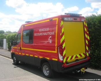 Véhicule de secours nautique, Sapeurs-pompiers, Yvelines (78)
