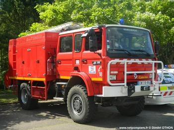 Fourgon-pompe tonne, Sapeurs-pompiers, Cher (18)