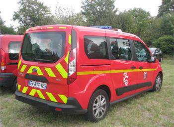 Véhicule pour interventions diverses, Sapeurs-pompiers, Val-d'Oise