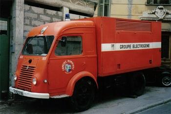 Fourgon groupe électrogène, Sapeurs-pompiers, Alpes-Maritimes (06)
