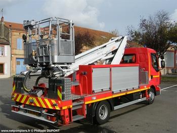 Camion bras élévateur articulé, Sapeurs-pompiers, Gers (32)