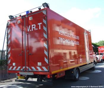 Véhicule pour interventions à risques technologiques, Sapeurs-pompiers, Pas-de-Calais (62)