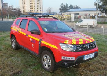 Véhicule radio médicalisé, Sapeurs-pompiers, Saône-et-Loire (71)