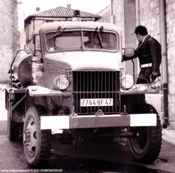 <h2>Camion-citerne pour feux de forêts - Beauville - Lot-et-Garonne (47)</h2>