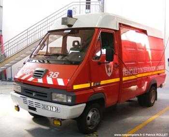 Véhicule de dépollution, Sapeurs-pompiers, Isère (38)