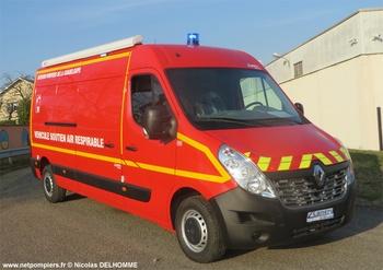 Véhicule d'assistance respiratoire, Sapeurs-pompiers, Guadeloupe (971)