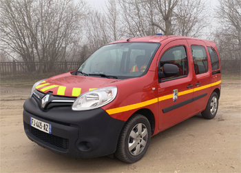 Véhicule de liaison, Sapeurs-pompiers, Meuse (55)