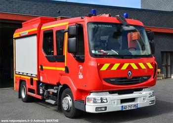 Fourgon-pompe tonne léger, Sapeurs-pompiers, Calvados (14)