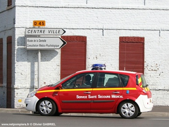 <h2>Véhicule léger infirmier - Caudry - Nord (59)</h2>