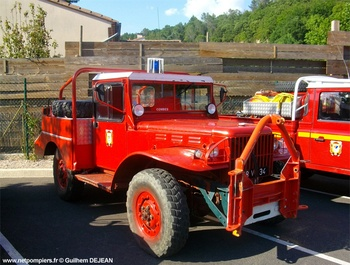 <h2>Camion-citerne pour feux de forêts léger - Combes - Hérault (34)</h2>