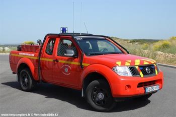 Camion-citerne pour feux de forêts léger, Sapeurs-pompiers, Bouches-du-Rhône