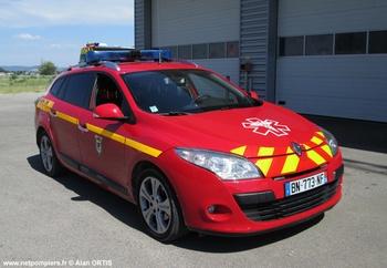 Véhicule radio médicalisé, Sapeurs-pompiers, Hérault (34)